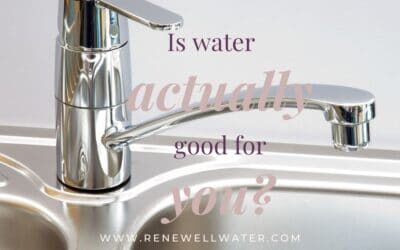 Is water actually good for you?